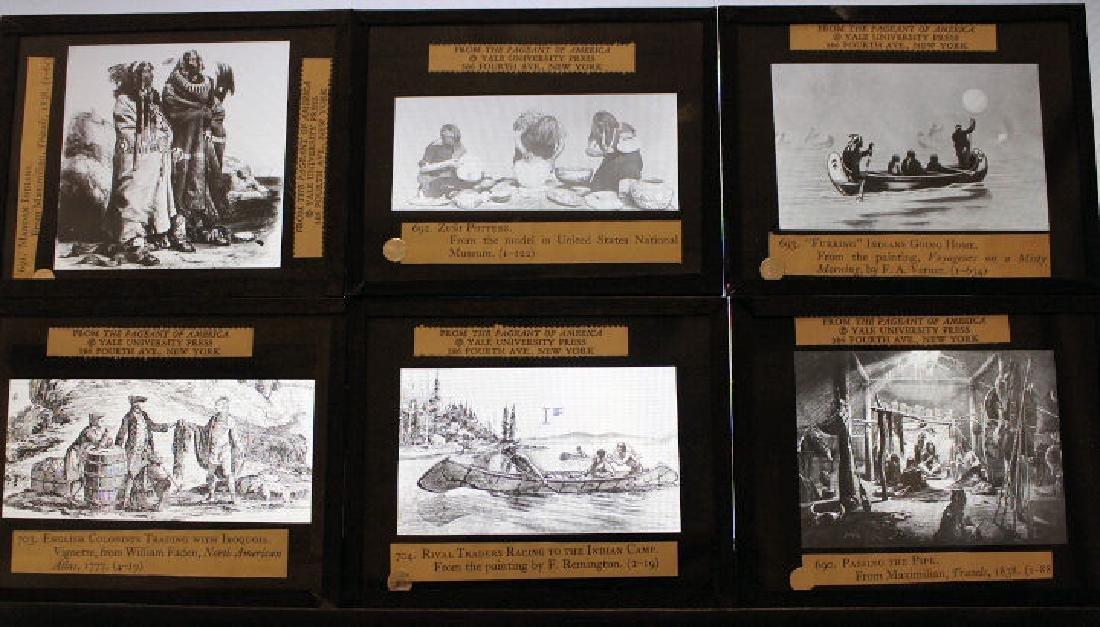 47 Lantern Slides - Story American Indians in Box - 6