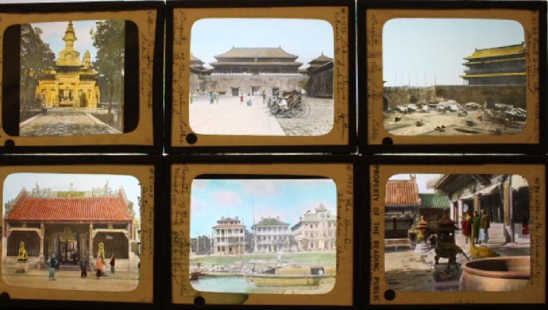 11 Lantern Slides - China