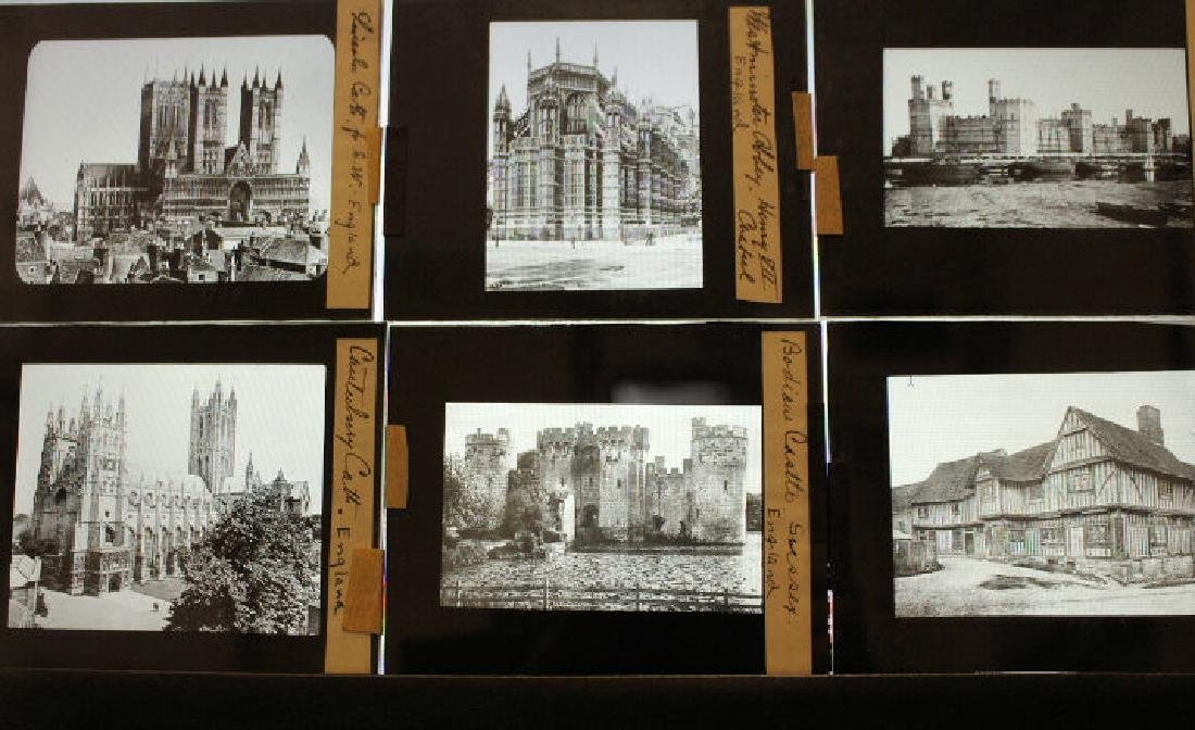23 Lantern Slides - England by William H Rau