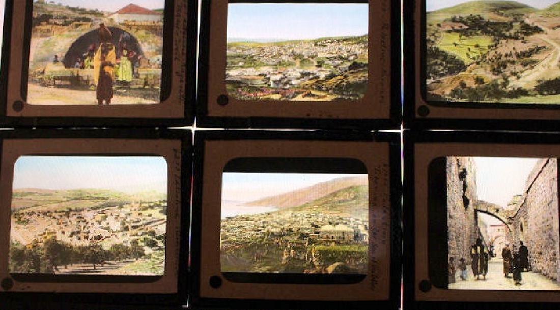 23 Lantern Slides - Palestine