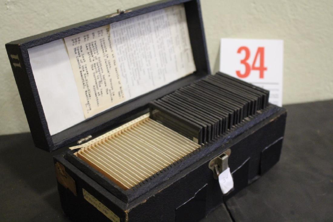 28 Lantern Slides - Civil War / Slavery Boxed Set - 6
