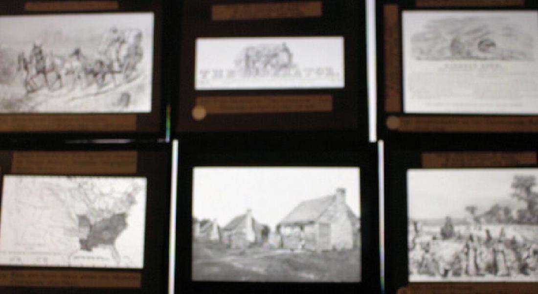28 Lantern Slides - Civil War / Slavery Boxed Set