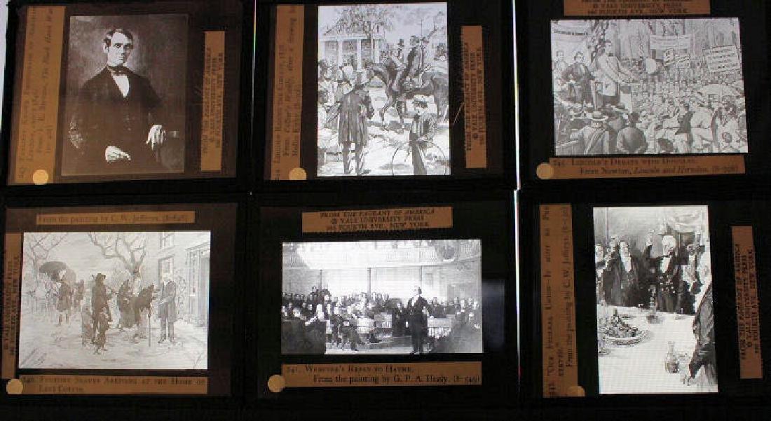 28 Lantern Slides - Civil War / Slavery Boxed Set - 2