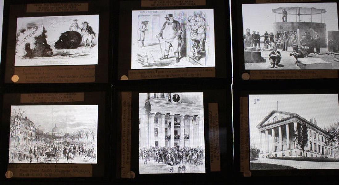28 Lantern Slides - Civil War / Slavery Boxed Set - 3