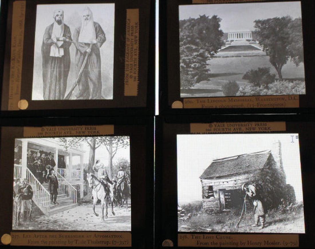 28 Lantern Slides - Civil War / Slavery Boxed Set - 5