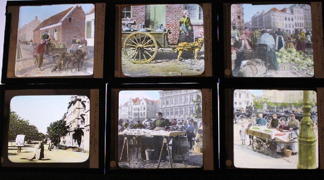 23 Lantern Slides - Belgium by William H Rau