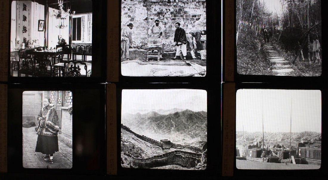 24 Lantern Slides - China by William H Rau