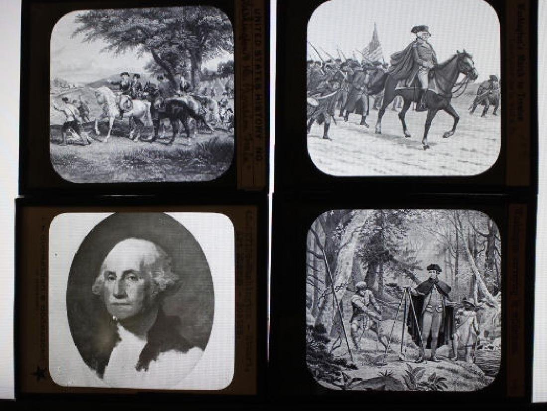 13 Lantern Slides - George Washington - 2