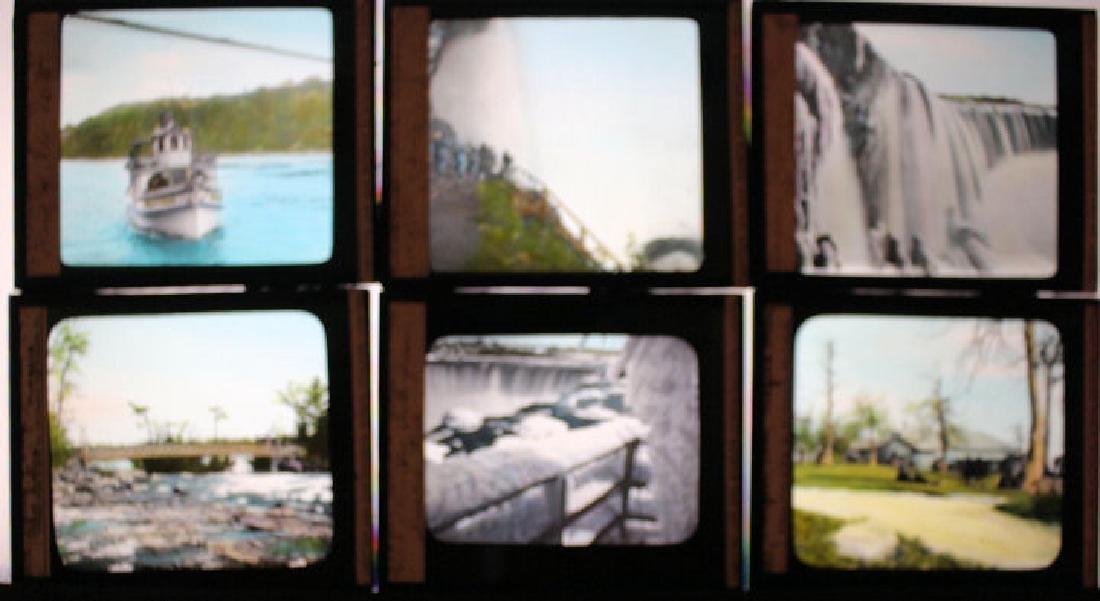 16 Lantern Slides - Niagara Falls