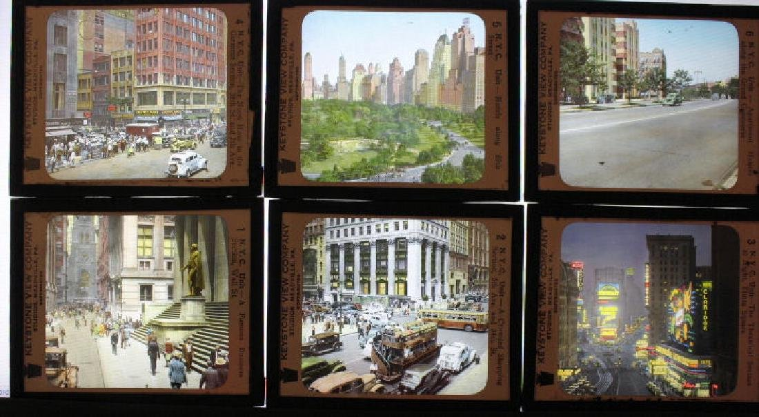 45 Lantern Slides - New York City
