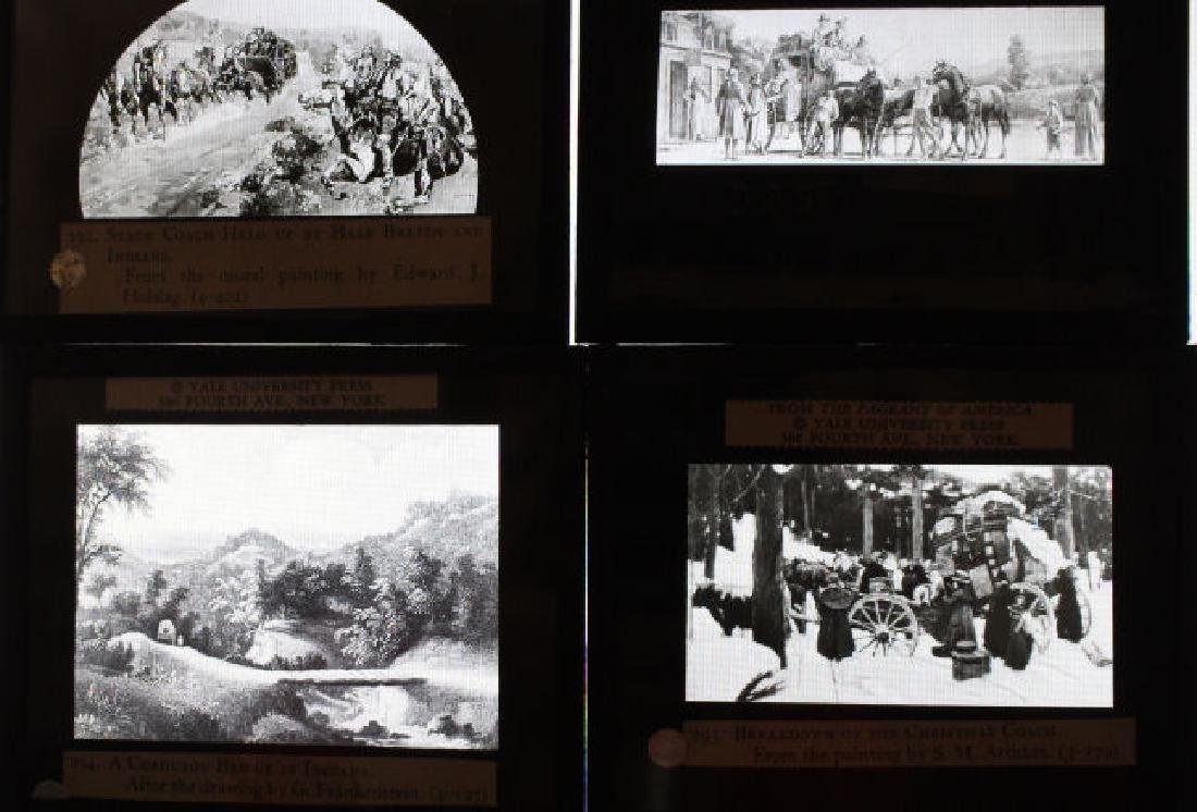 40 Lantern Slides - Transportation original box - 7
