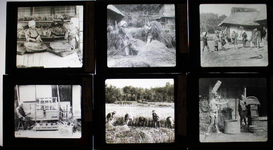 13 Lantern Slides - Japan by William H Rau - 2