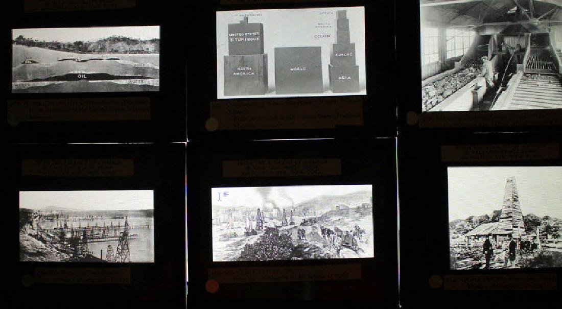 37 Lantern Slides - Coal & Oil original box - 4