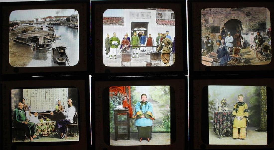 14 Lantern Slides - China