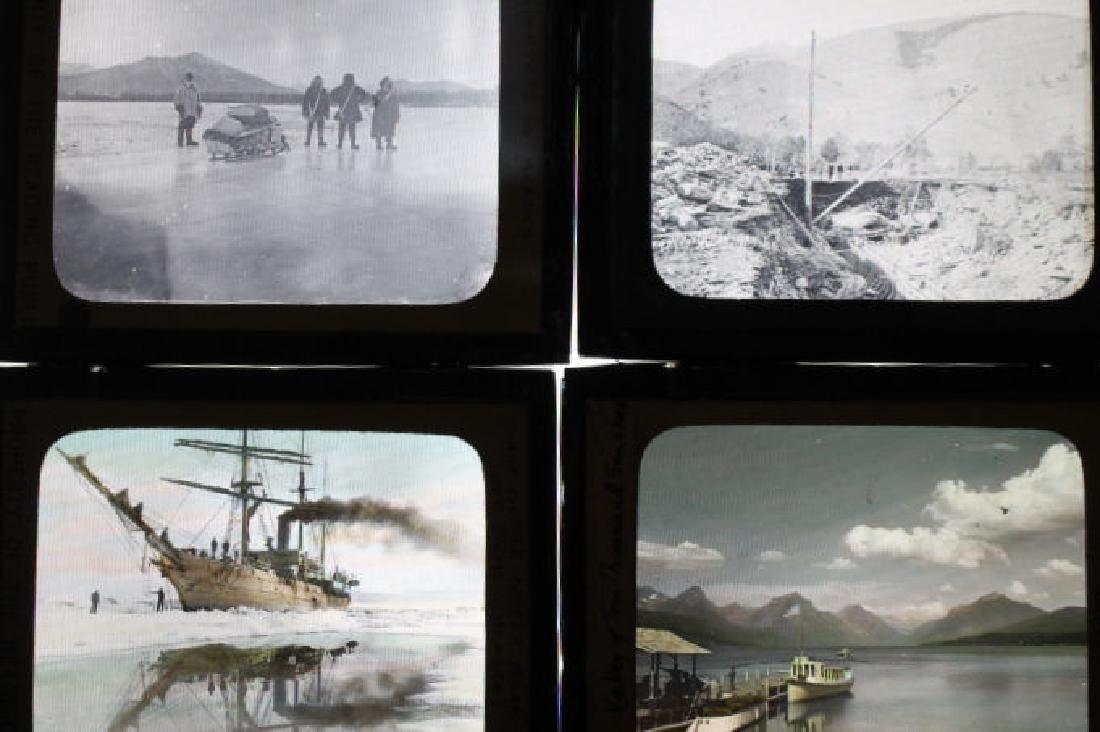 14 Lantern slides - Alaska