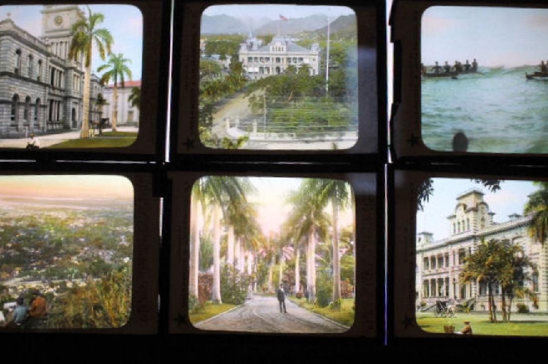 8 Lantern Slides - Hawaii