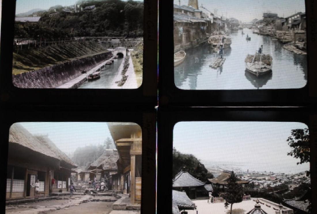 9 Lantern Slides - Japan by T. Takagi - 2