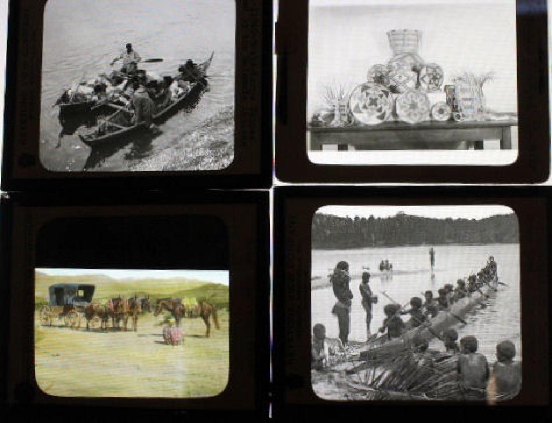 8 Lantern Slides - American Indians
