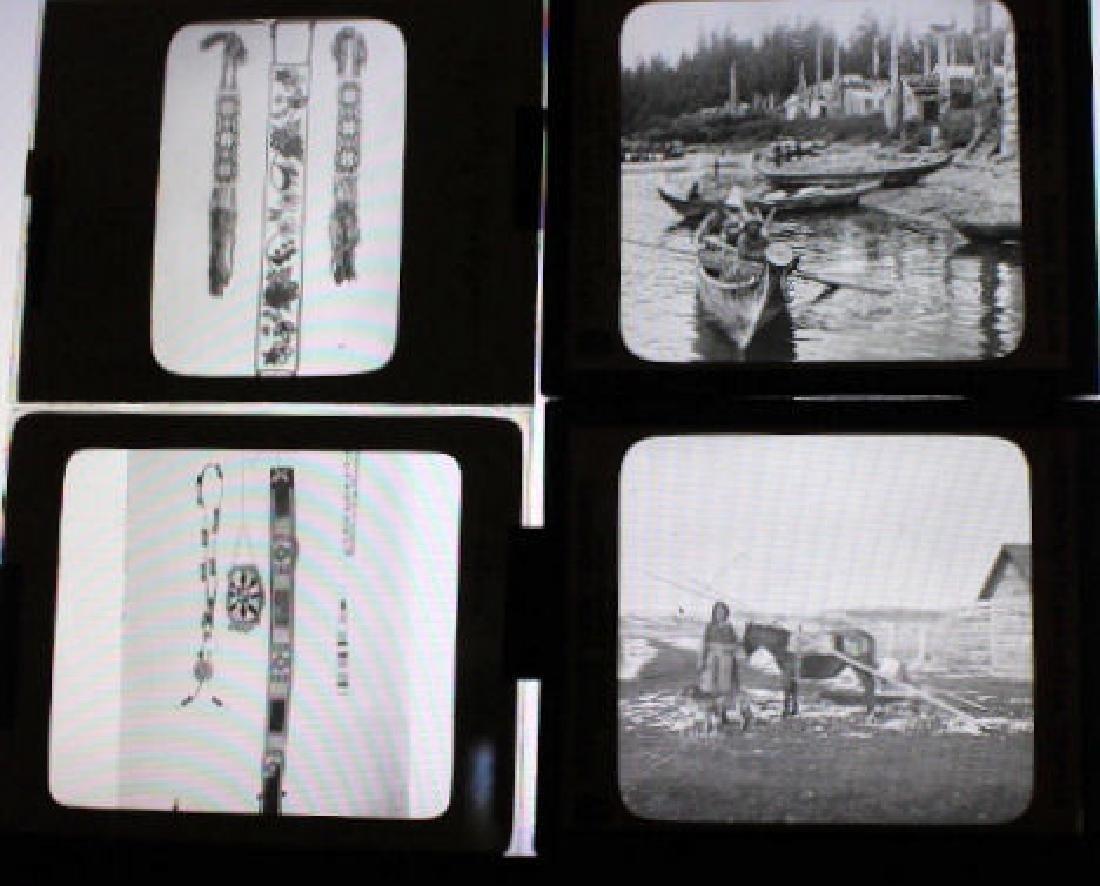 8 Lantern Slides - American Indians - 2