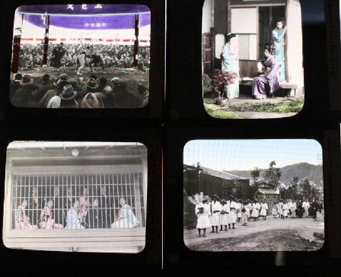 7 Lantern Slides - Japan by Takagi - 2