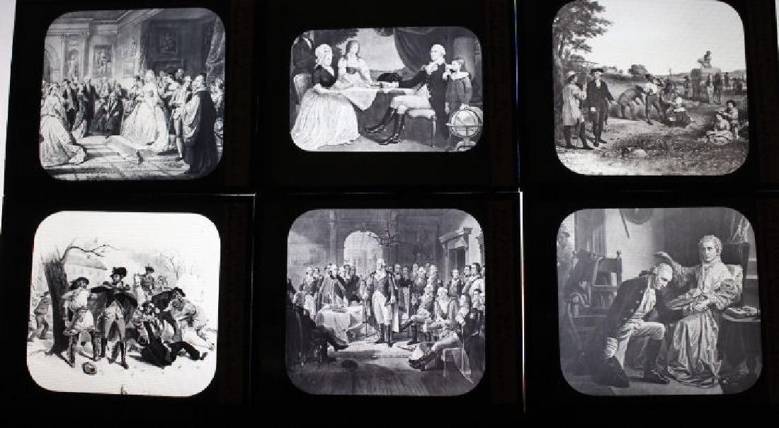 14 Lantern Slides - George Washington Series