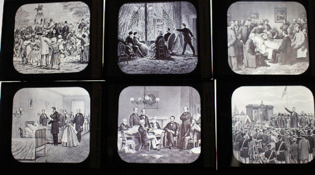 12 Lantern Slides - Abraham Lincoln Series - 2