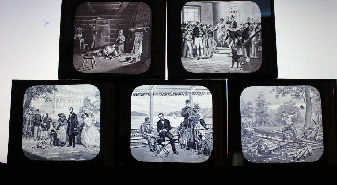 10 Lantern Slides - Abraham Lincoln - 2