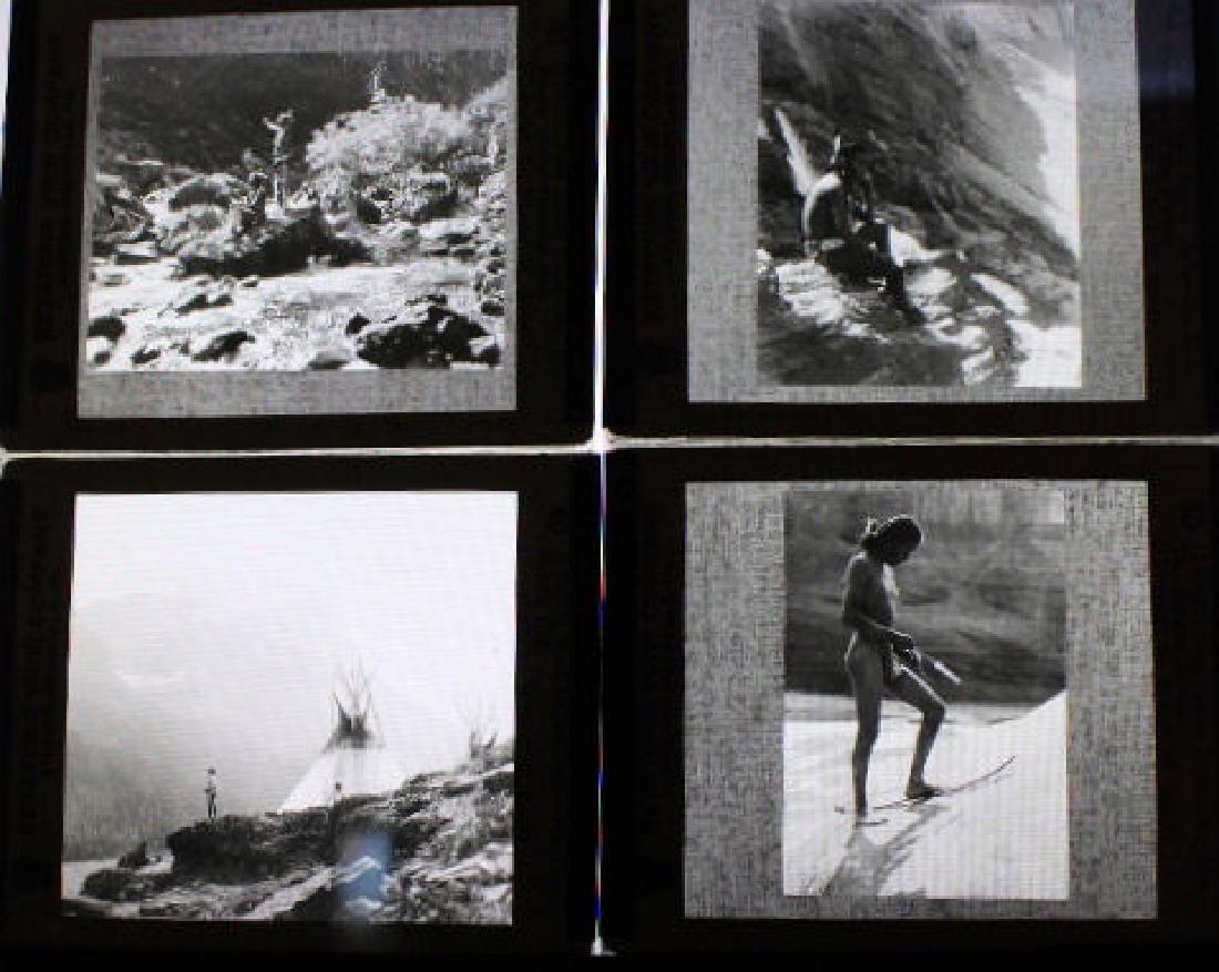 7 Lantern Slides - American Indians Roland Reed