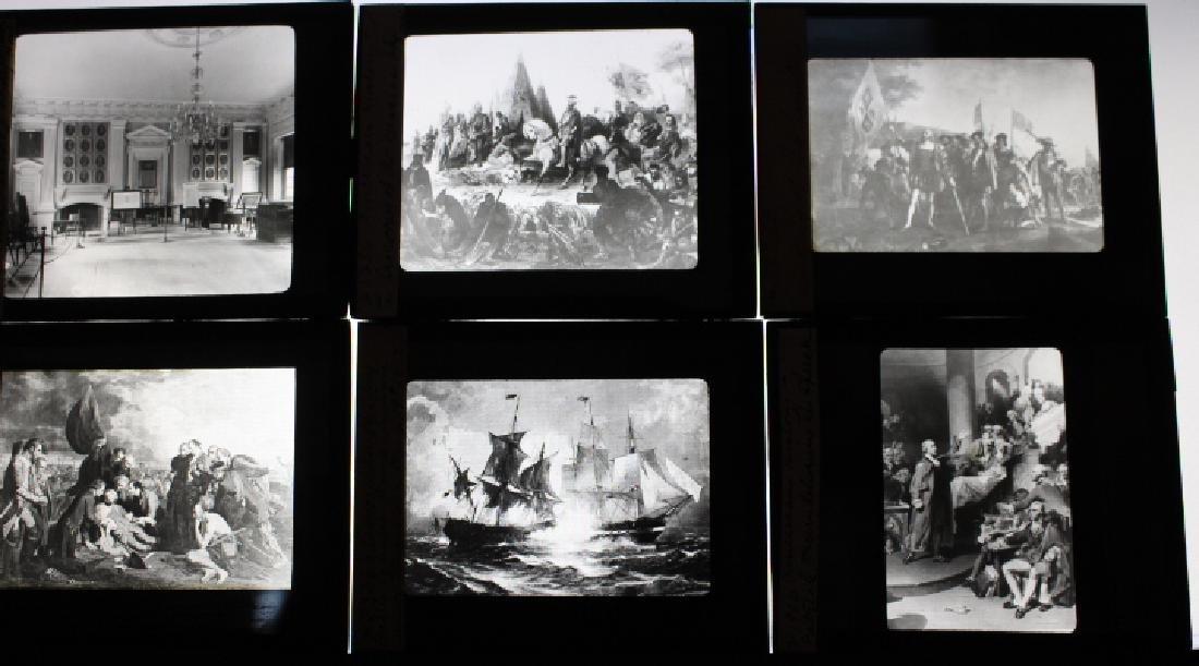 19 Lantern Slides - American History, Rau