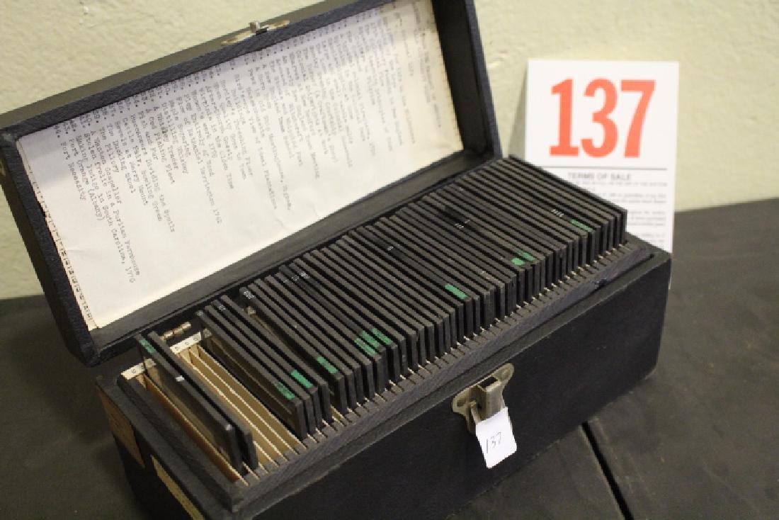44 Lantern Slides - Colonial life original box - 8