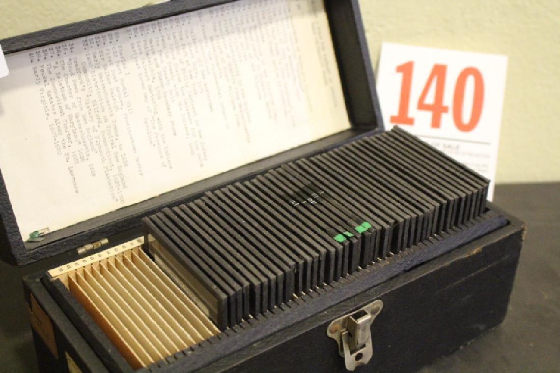 40 Lantern Slides - Colonial Times original box - 7