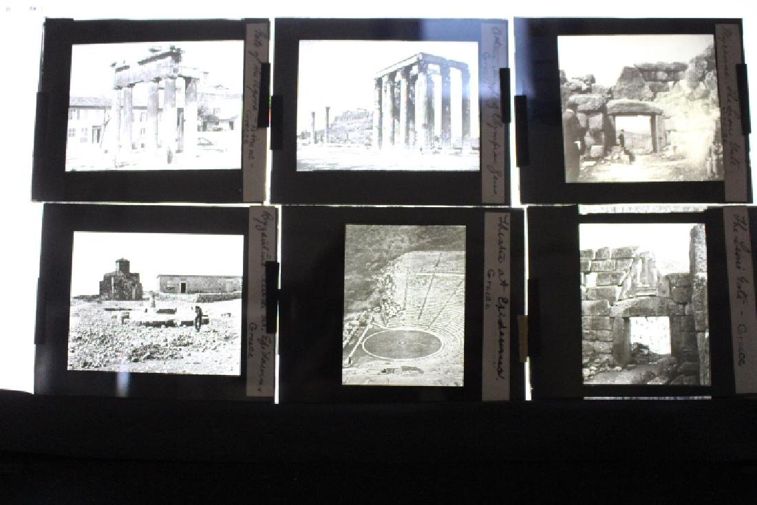 14 Lantern Slides -  Greece