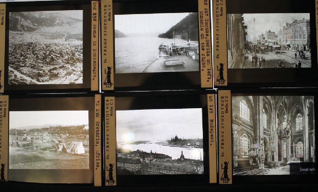 43 Lantern Slides - Europe & Africa Stoedtner
