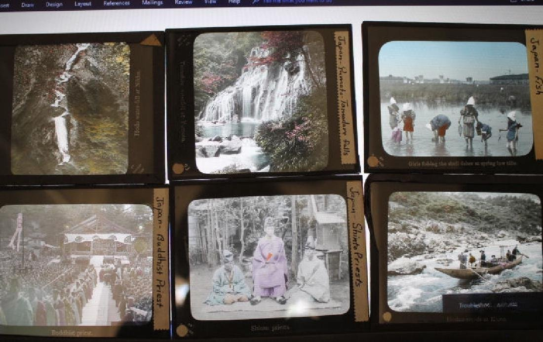 20 Lantern Slides - Japan T. Takagi