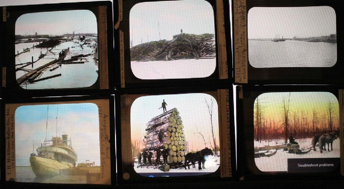 27 Lantern Slides - Michigan