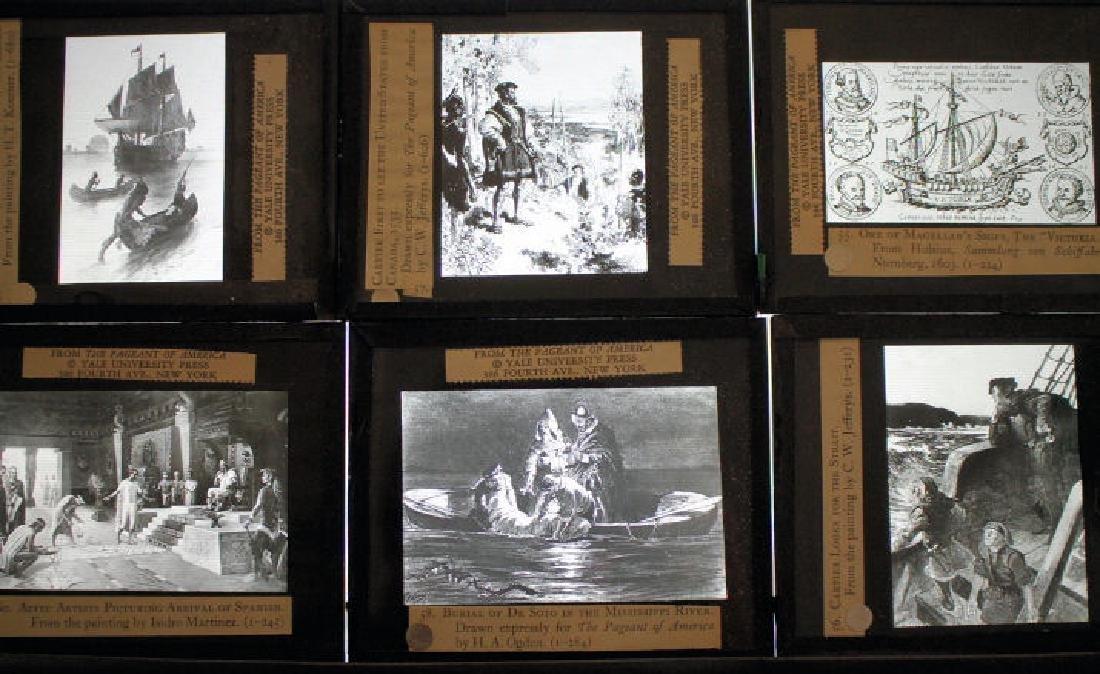 35 Lantern Slides - Boxed Exploration Series - 3