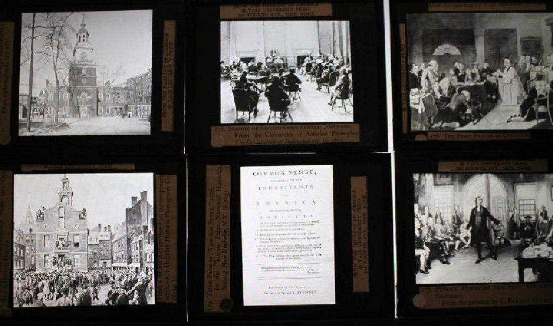 30 Lantern Slides Boxed Constitution Series