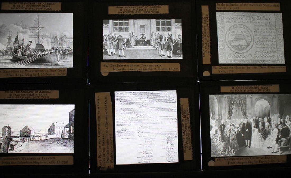 30 Lantern Slides Boxed Constitution Series - 2