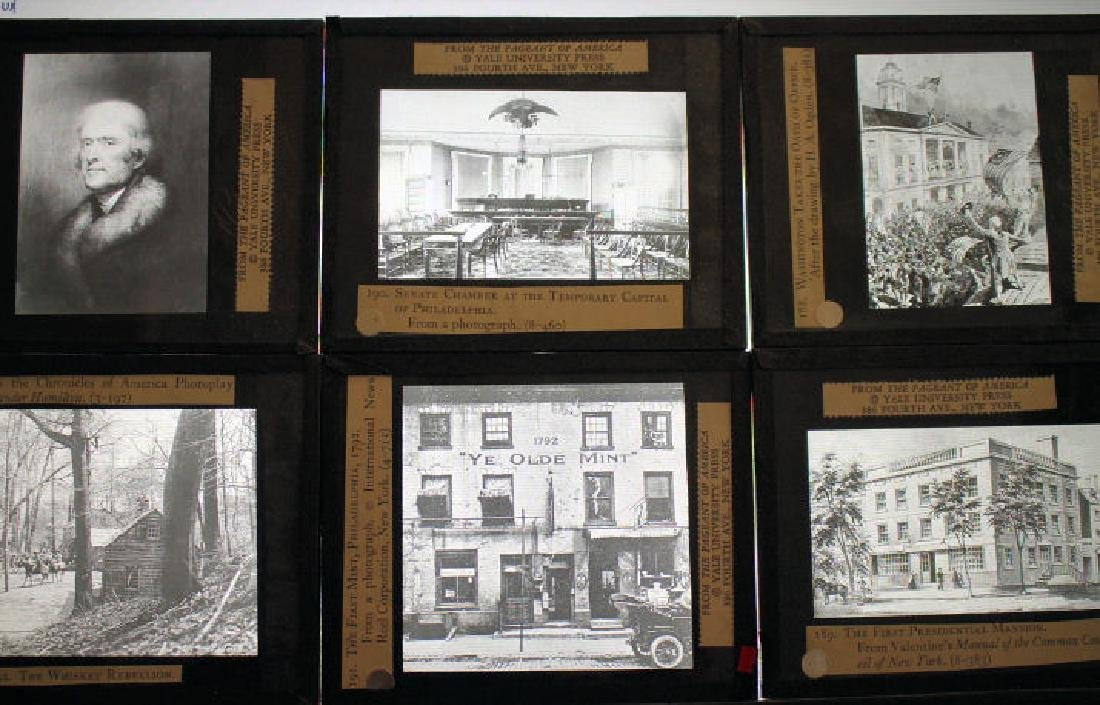 30 Lantern Slides Boxed Constitution Series - 3