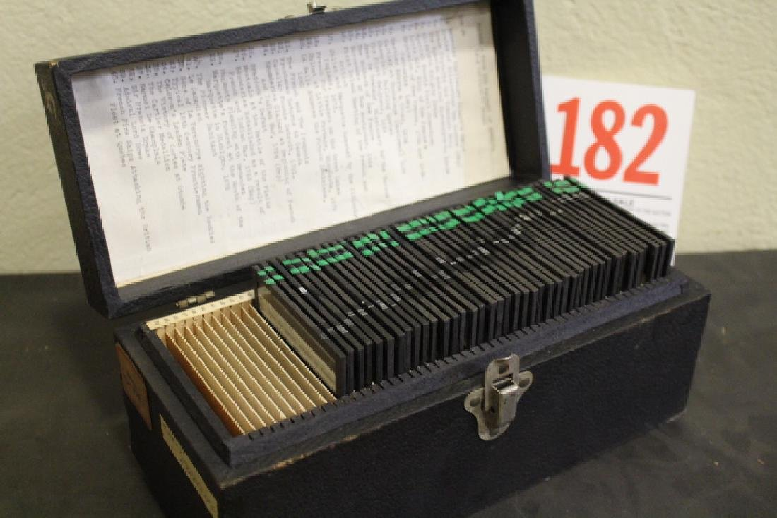 40 Lantern Slides Boxed Early Explorers Series - 8