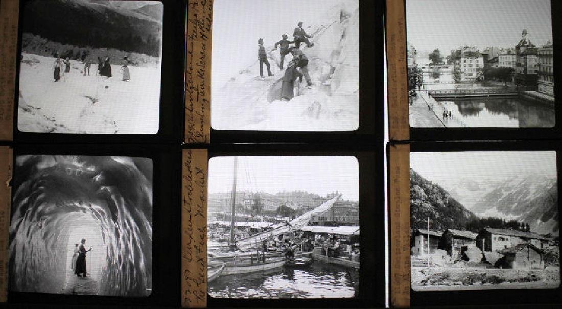 26 Lantern Slides - Switzerland