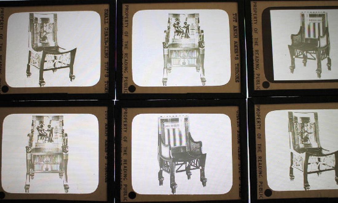 6 Lantern Slides - King Tut