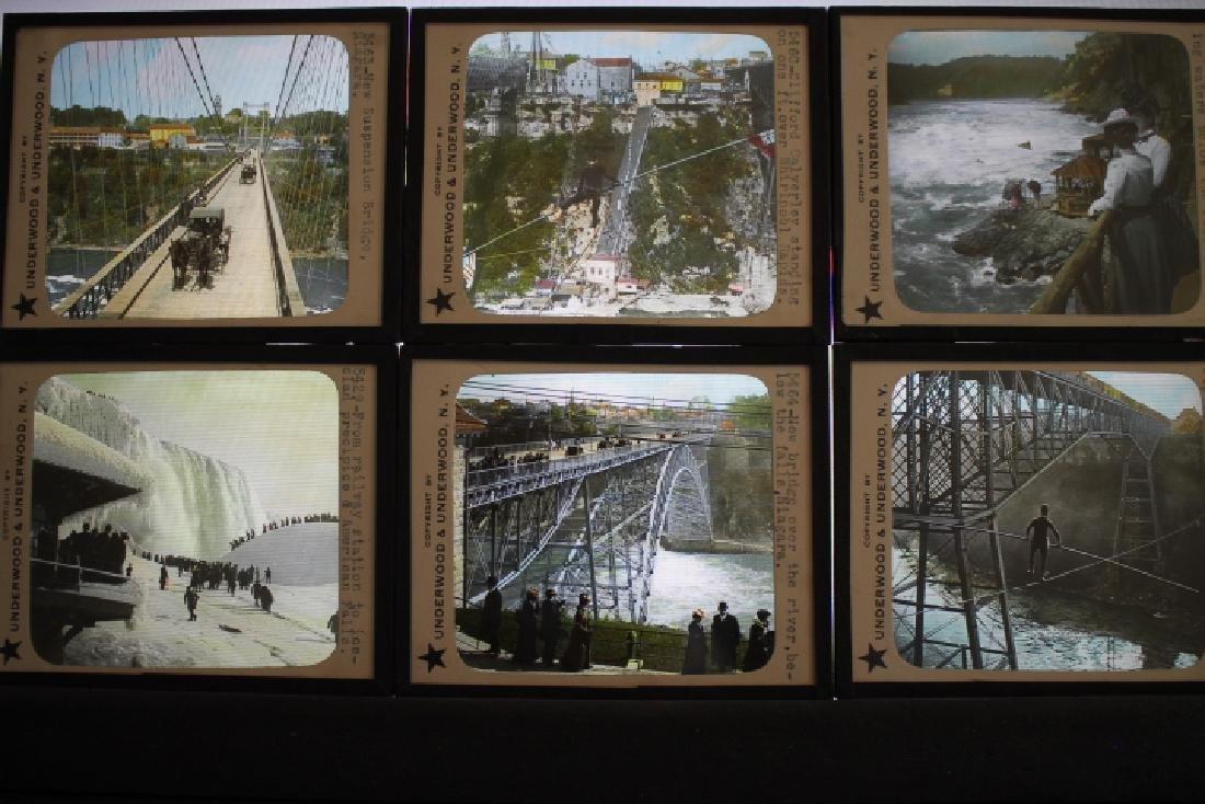 47 Lantern Slides - Niagra Falls