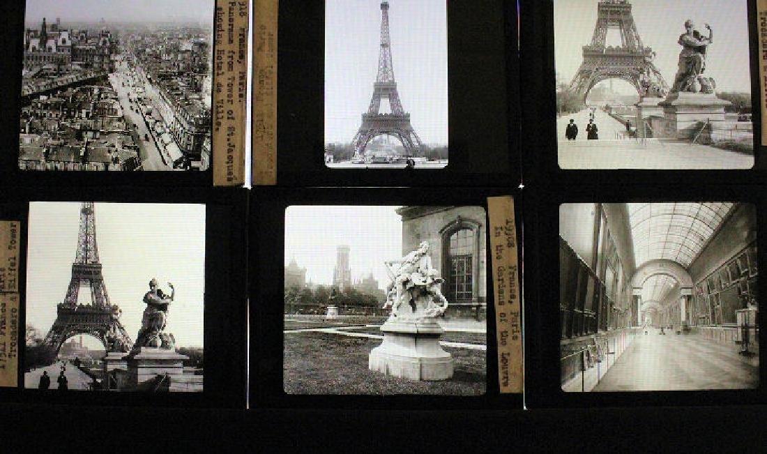 30 Lantern Slides - France
