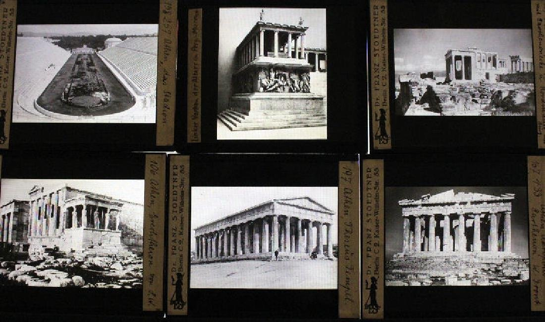 12 Lantern Slides - Greece