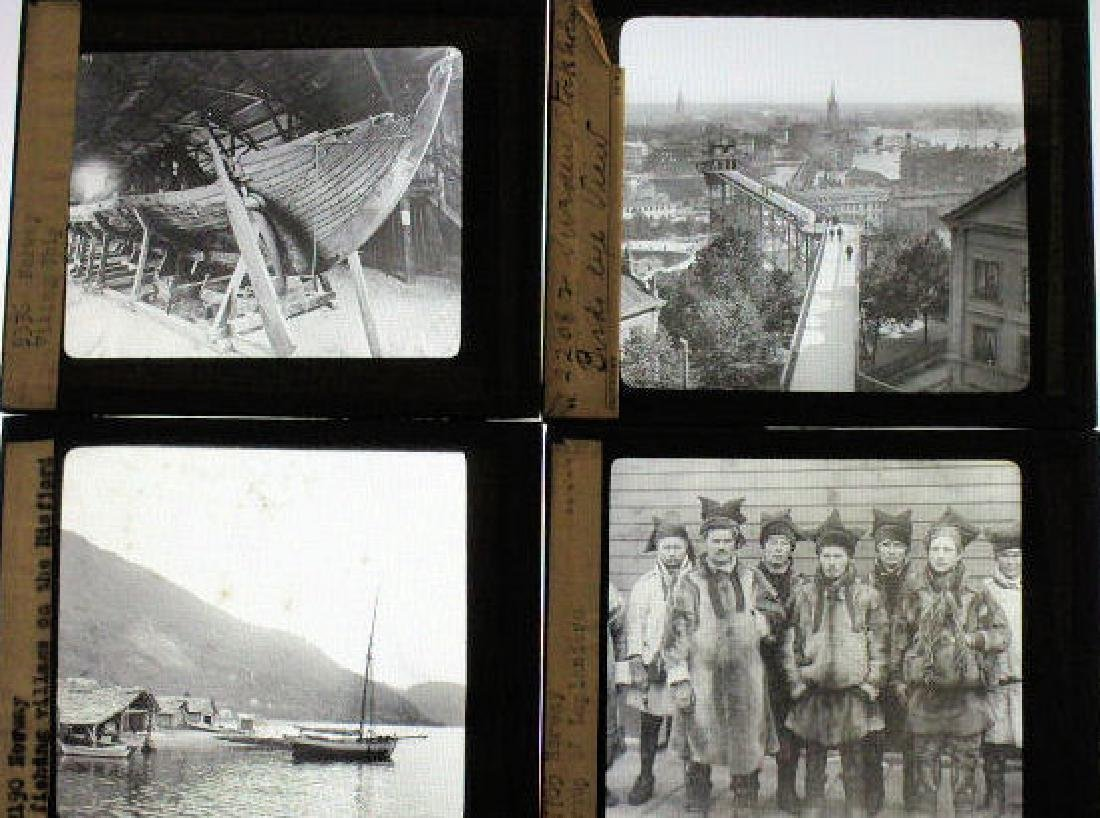 18 Lantern Slides - Norway