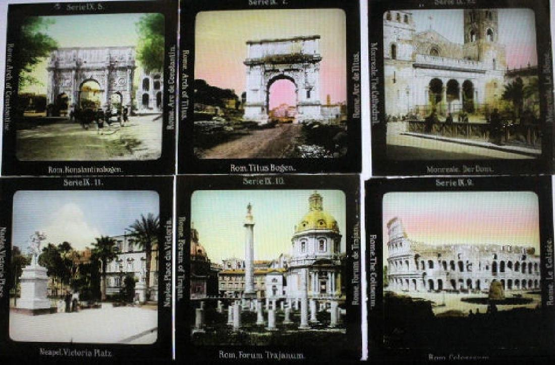 24 Lantern Slides - Europe Gifted by Dr. Livingood