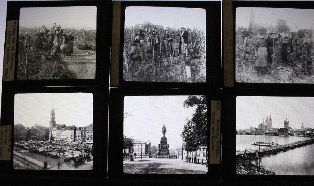 25 Lantern Slides - Germany by William H Rau