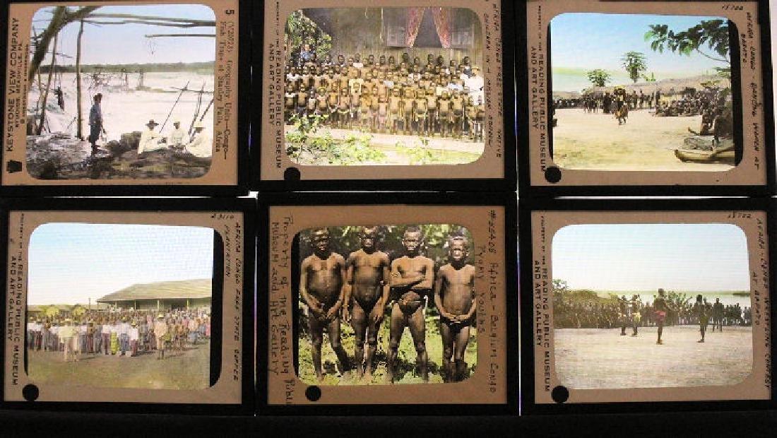 25 Lantern Slides - Africa Congo