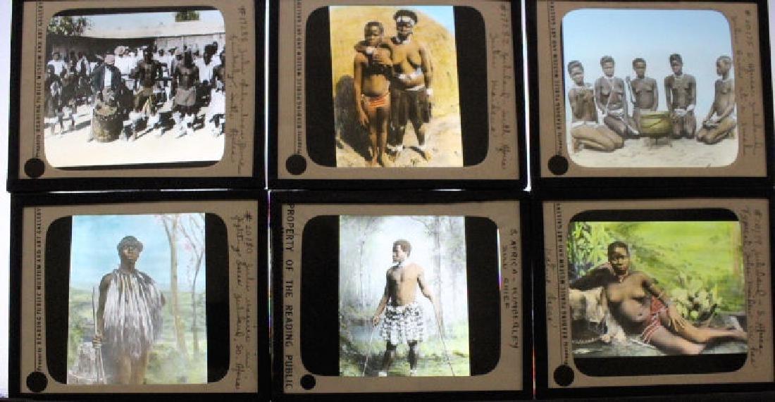 12 Lantern Slides - South Africa - Zulu